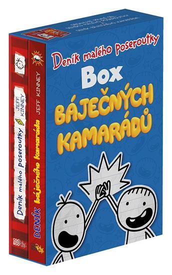 Deník malého poseroutky - Box báječných kamarádů