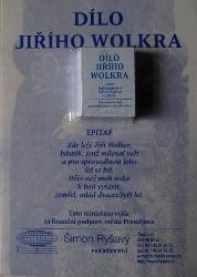 Dílo Jiřího Wolkera