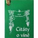 Citáty o víně